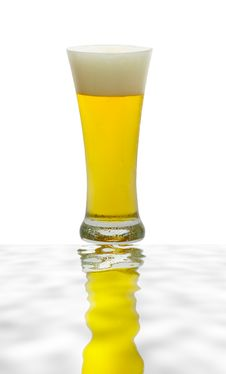 Free Beer Glass Royalty Free Stock Images - 10019059