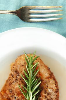 Free Chicken With Rosemary Stock Photography - 10019342