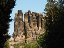 Free Rock, National Park, Formation, Escarpment Royalty Free Stock Images - 100195409