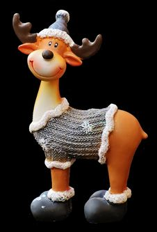 Free Figurine, Toy, Art, Reindeer Royalty Free Stock Photos - 100195478