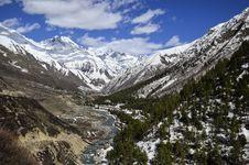 Free Mountainous Landforms, Mountain, Wilderness, Snow Stock Image - 100198891