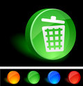Free Recycle Bin Icon. Royalty Free Stock Photo - 10026935
