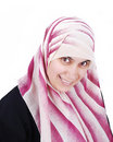 Free Muslim Covered Beautiful Happy Woman Royalty Free Stock Image - 10027396