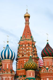 Free St. Basil Cathedral. Moscow Royalty Free Stock Image - 10020386