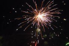 Free Firework 2 Royalty Free Stock Photos - 10020398