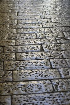 Free Old Cobblestone Road Stock Photography - 10020592
