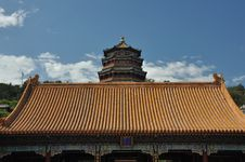 Free Tower Of Buddhist Incense, Summer Palace China Royalty Free Stock Photography - 10020607