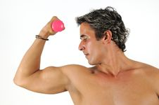 Free Muscular Hispanic Man Royalty Free Stock Photos - 10020748