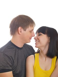 Free Young Couple In Love Royalty Free Stock Image - 10021186