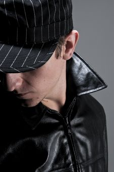 Free Model With Cap And Jacket Stock Photos - 10021533