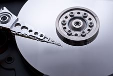 Free Hard Drive Inside Details Stock Photography - 10021862