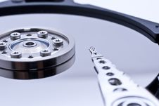 Free Hard Drive Inside Details Stock Photography - 10021882