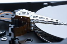 Free Hard Drive Inside Details Royalty Free Stock Photos - 10021898