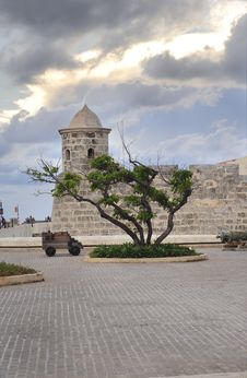 Free La Punta Fort In Havana Royalty Free Stock Photos - 10022168