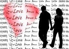 Free Love Words Stock Photos - 10022693