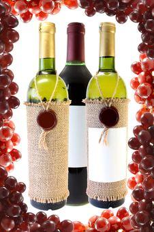 Free Wine Royalty Free Stock Photo - 10022885