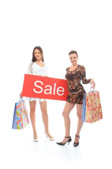Free Happy Shopping Royalty Free Stock Images - 10022959