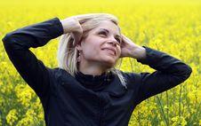 Free Girl Enjoys Stock Photos - 10025863