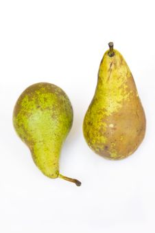 Free Two Pears Stock Photos - 10026003