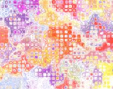 Free Colorful Square Tiles Royalty Free Stock Photography - 10026017
