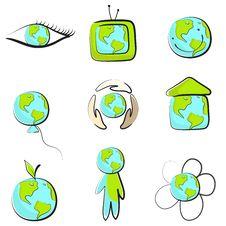 Free Earth Logos Stock Photo - 10026080