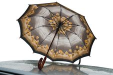 Free Umbrella And Rain. Stock Images - 10026214