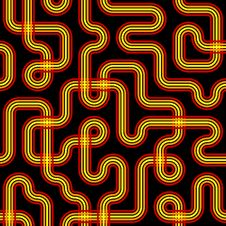 Seamless Circuit Pattern