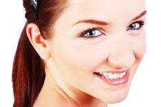 Free Pretty Girl Smiling Royalty Free Stock Photo - 10026795