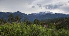 Free Bushy Snow Mountain Royalty Free Stock Photos - 10026828