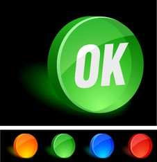 Free OK Icon. Royalty Free Stock Image - 10026946