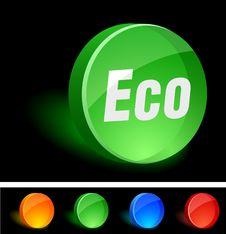 Free Eco Icon. Stock Photo - 10027010