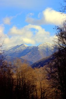 Free Winter Time In The Smokies Stock Images - 10027764