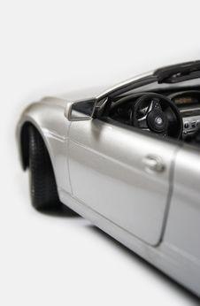 Free Convertible Model Car Interior Royalty Free Stock Photo - 10028735