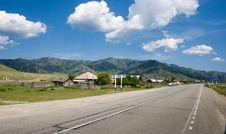 Free Road Near Village Stock Photos - 10029563