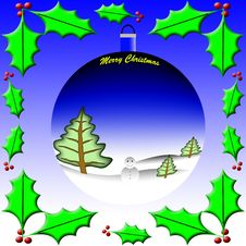 Free Merry Christmas Theme Royalty Free Stock Photography - 10029977