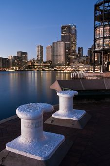 Early Morning At Circular Quay, Sydney, Australia Stock Image