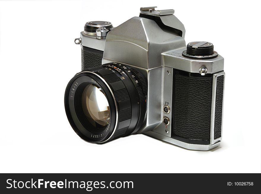 Classic 35mm Film Camera - Free Stock Images & Photos