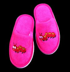 Free Footwear, Pink, Slipper, Shoe Stock Photography - 100206572