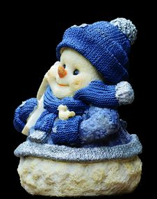 Free Snowman, Lawn Ornament, Figurine Stock Photography - 100249732
