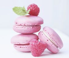 Free Macaroon, Sweetness, Strawberry, Dessert Stock Photo - 100253500