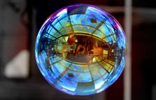 Free Glass, Light, Stained Glass, Sphere Stock Photography - 100254832