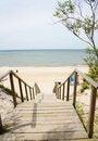 Free Walkway To The Sea Stock Photography - 10030852