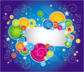 Free Multicolor  Background With Copy Space Royalty Free Stock Photography - 10037147