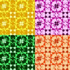 Seamless Ornament Pattern Stock Photo