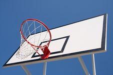 Free Basketball Hoop Stock Photo - 10031370