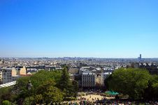 Free Paris Skyline Royalty Free Stock Images - 10032579