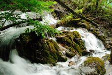 Free A Small Waterfall Stock Photo - 10032980