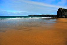 Free Golden Beach Stock Image - 10033221