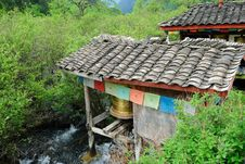 Free Prayer Wheel Mill Stock Photos - 10033283