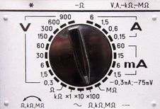 Free Voltage And Amperage Scale Stock Photo - 10033440